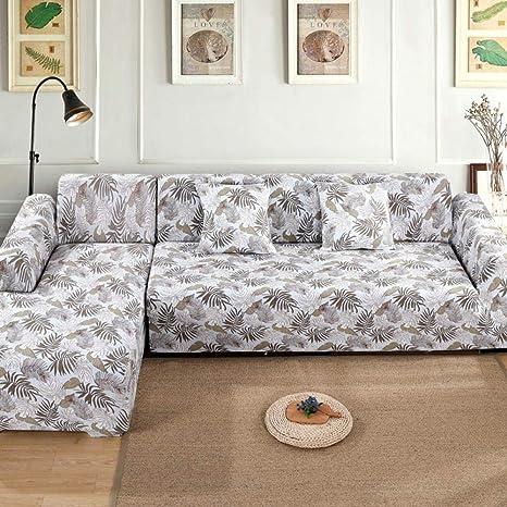 ADGAINAI Fundas De Sofas Chaise Longue Elastic Sofa Cover ...