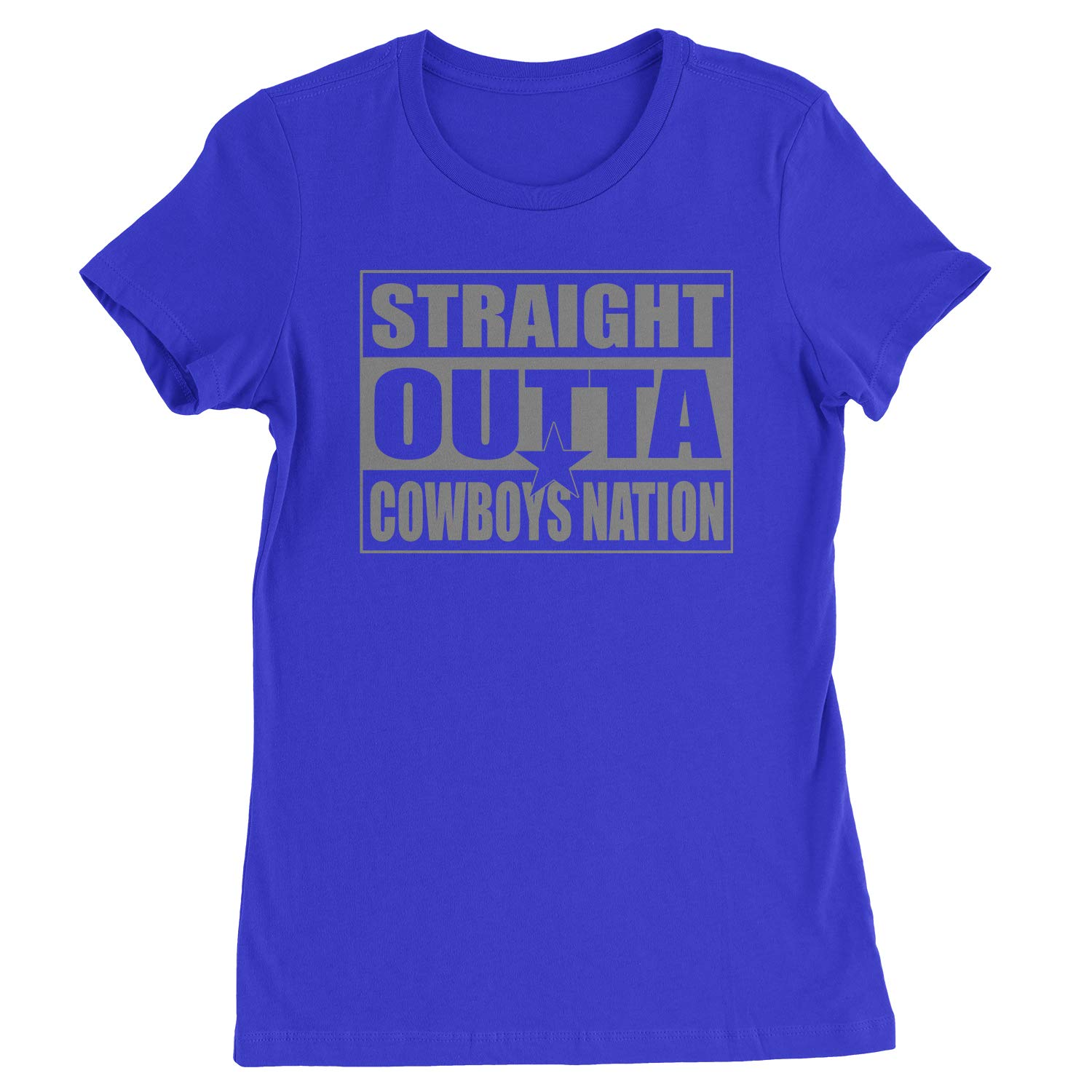 Straight Outta Cow Nation Football T Shirt