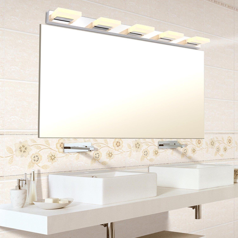 L mparas para espejo de cuarto de ba o for Espejo pared habitacion
