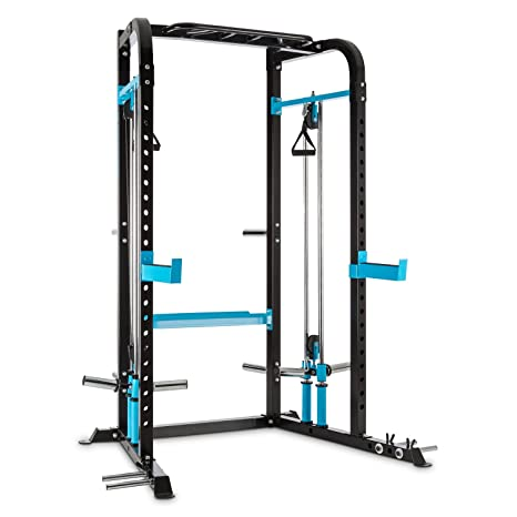 Capital Sports Tremendi Rack máquina de poleas con Barra de ...