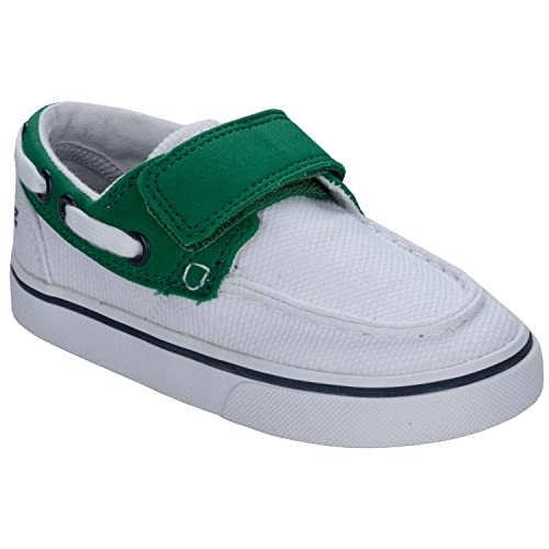 Lacoste - Zapatillas para niño Verde/Blanco, Color Blanco, Talla 38 EU Niño: Lacoste: Amazon.es: Zapatos y complementos