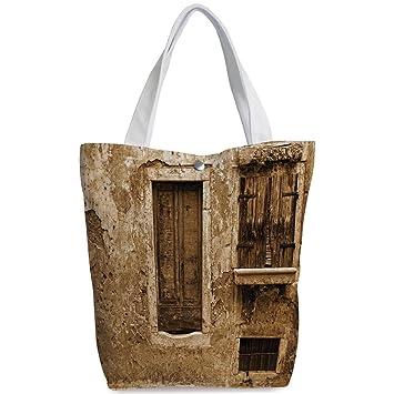 Amazon.com  iPrint Canvas Shopping bag 05617d7b5fa9b