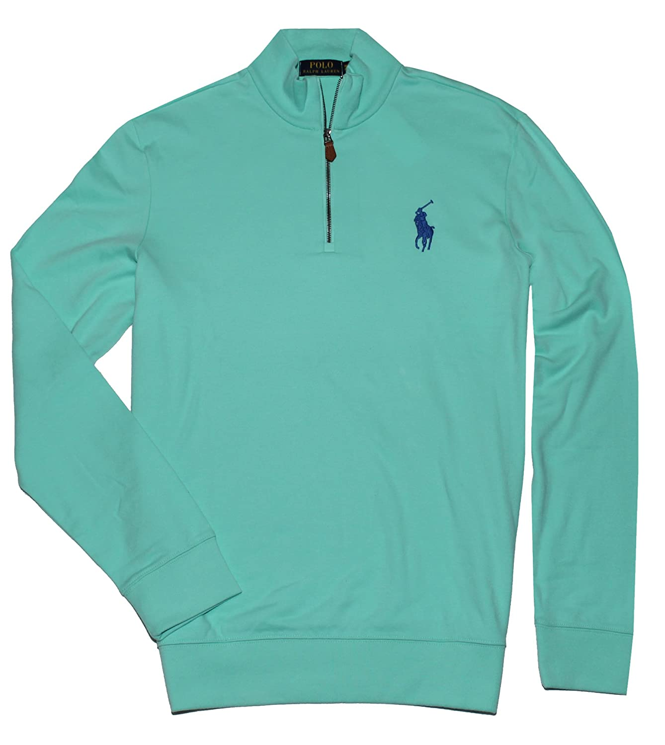 Polo Ralph Lauren Mens Big Pony Half Zip Pullover Sweatshirt 30%OFF ... bd9046bf0d