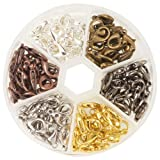 Amazon Price History for:Pandahall 1 Box 120PCS 6 Color Zinc Alloy Lobster Claw Clasps Nickel Free (14x8mm)