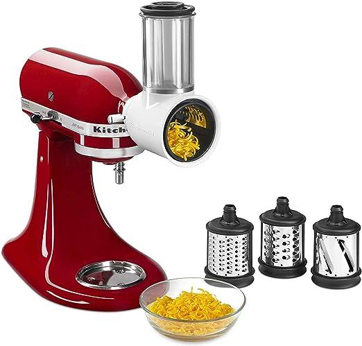 Cortadora ralladora rebanadora Accesorio Kitchenaid 5KSMVSA. Original. Valido para Todos los Robots de Cocina Kitchenaid - Garantía Española: Amazon.es