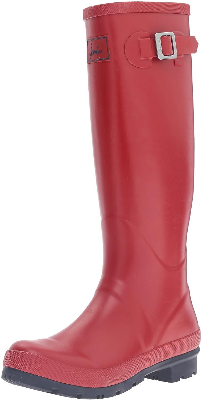 Joules Women's Field Welly Rain Boot B01F00DYEI 8 B(M) US|Red