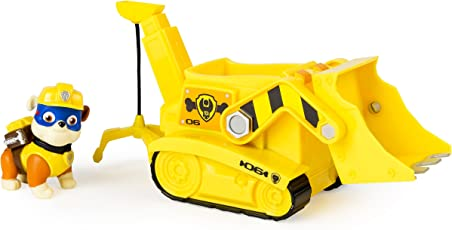 Paw Patrol Super Pup Rubble's Crane, Vehicle Figure