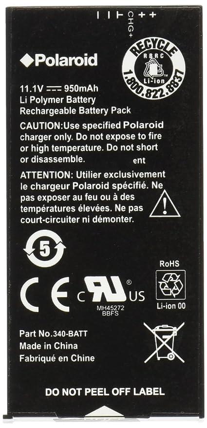 chargeur batterie polaroid z340