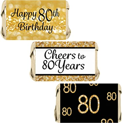Amazon.com: DISTINCTIVS - Pegatinas de regalo para 80 ...
