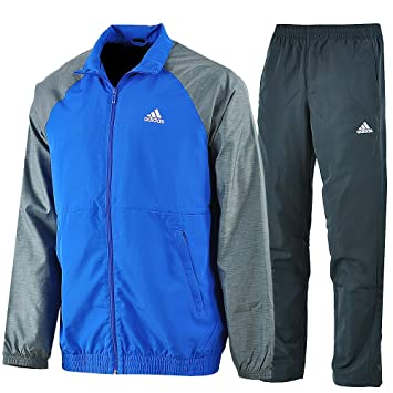 Adidas - Trainingsanzüge Ts Iconic - survetement - Homme - Multicolore (Bleu  Gris  d1ed816307d