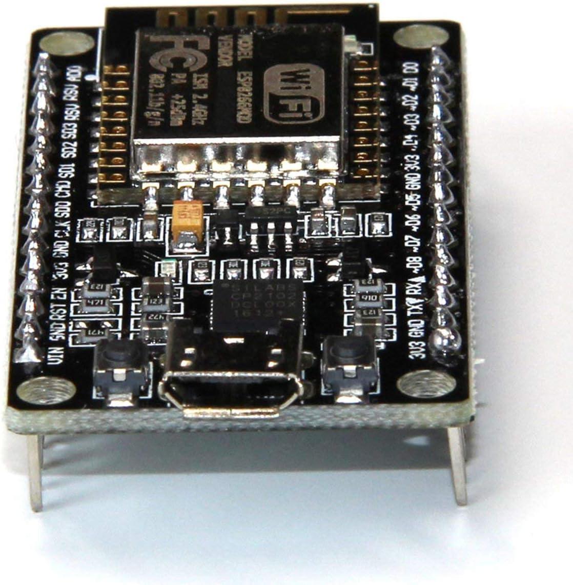 JIUY High Precision Durable Use NodeMcu Lua WIFI Internet Things development board based ESP8266 CP2102 module Board black