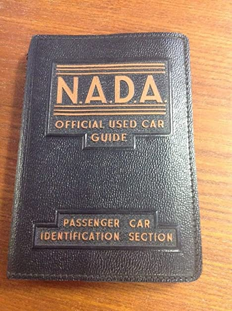 Nada official used car guide®.