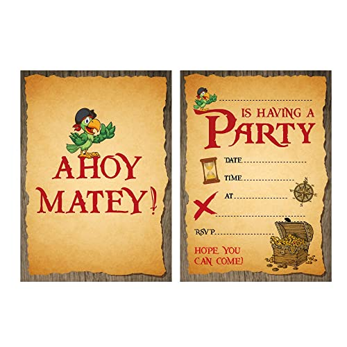 pirate party invitations amazon co uk