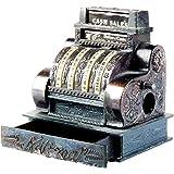 Old Time Cash Register Die Cast Metal Collectible Pencil Sharpener