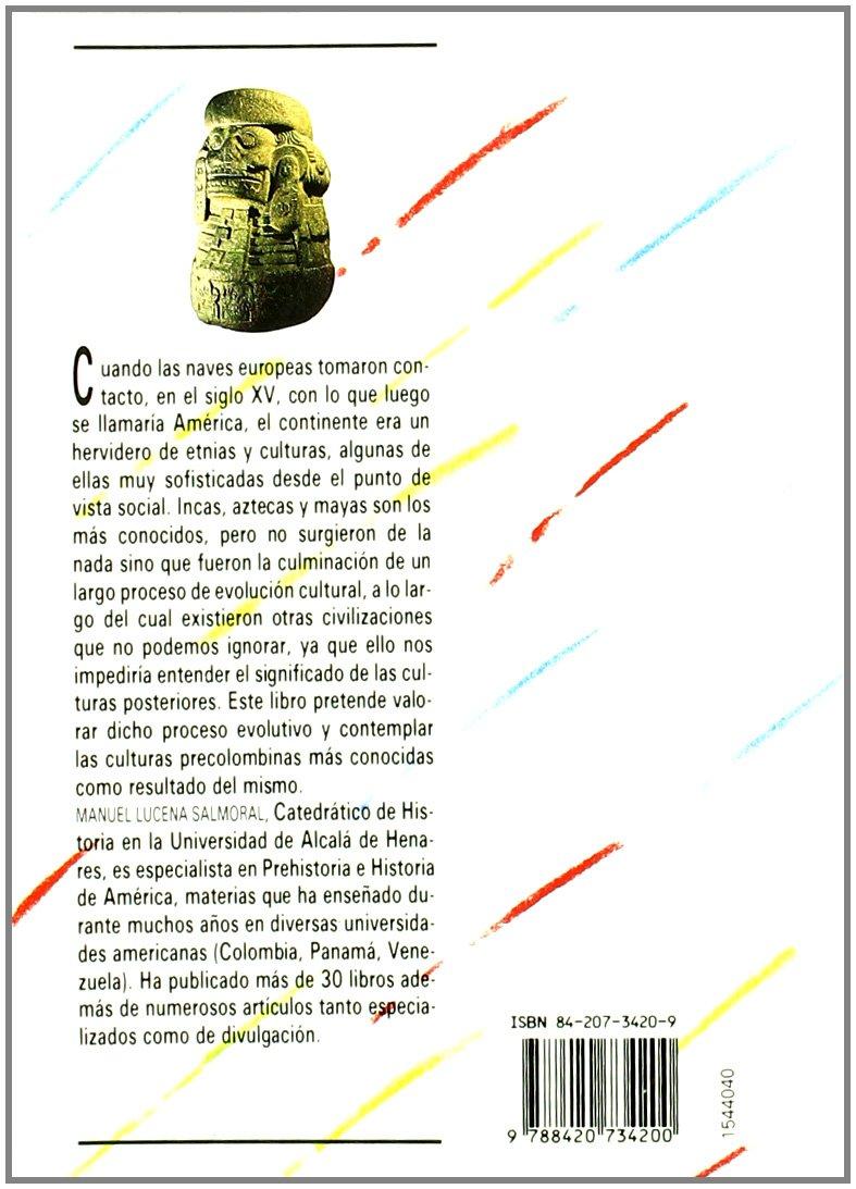La america precolombina / The Pre-colombian America (Biblioteca Basica De Historia / Basic History Library) (Spanish Edition)