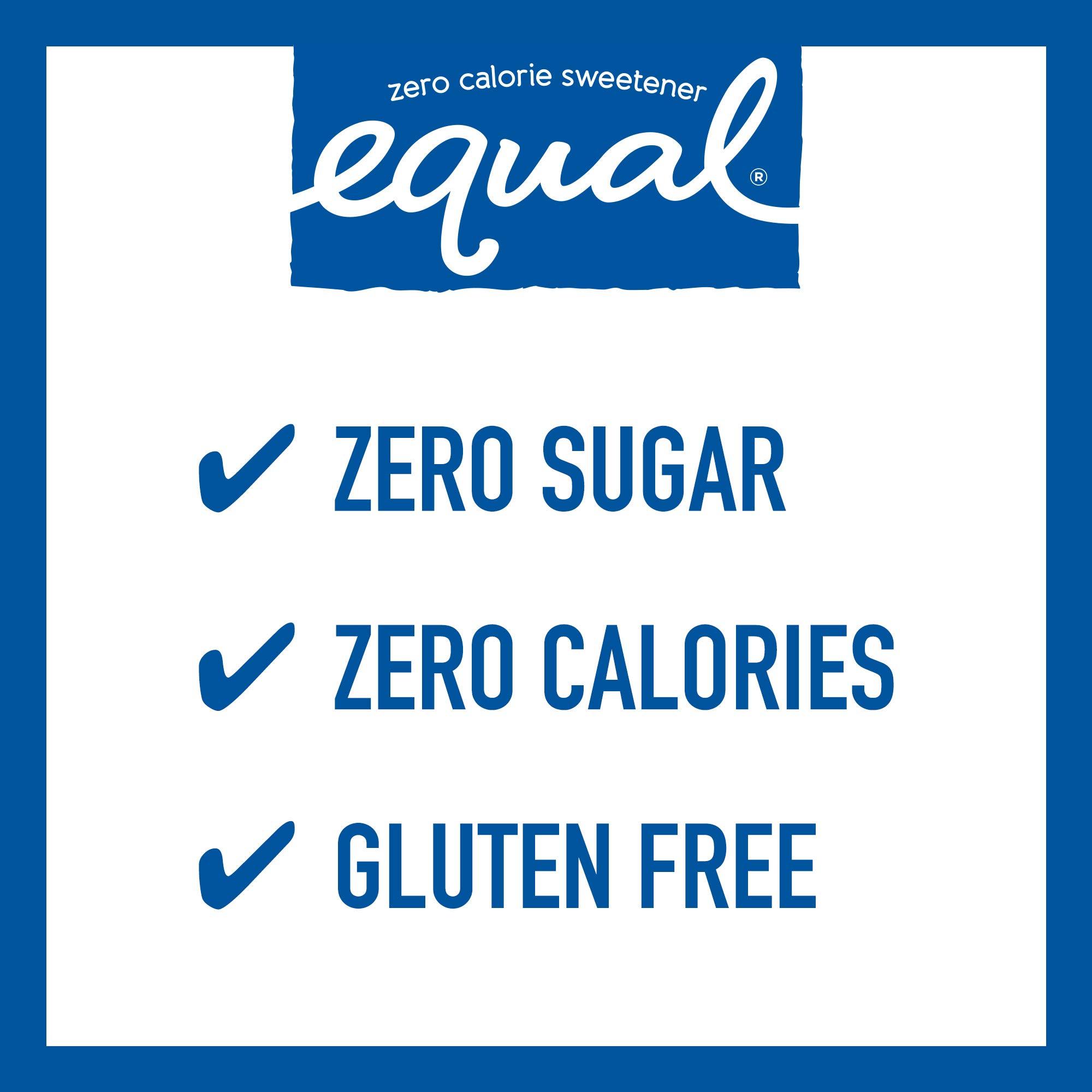 EQUAL 0 Calorie Sweetener, Sugar Substitute, Zero Calorie Sugar Alternative Sweetener Packets, Sugar Alternative, 50 Count (Pack of 12) by Equal (Image #3)