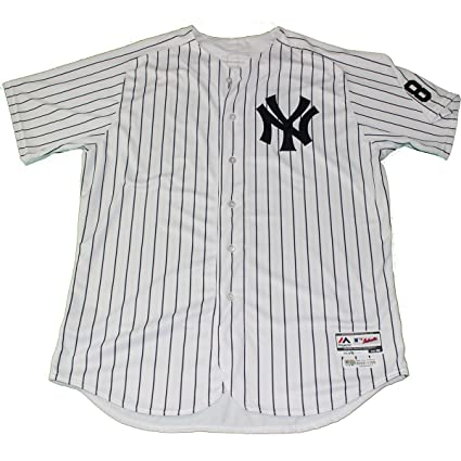 9f7e6bc97 Alan Cockrell New York Yankees Yankees 2016 Opening Day Game Issued  62  Pinstripe Jersey w