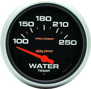 "AUTO METER AutoMeter 5437 Gauge, Water Temp, 2 5/8"", 100-250ºf, Electric, Pro-Comp"