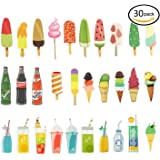 Tonnier Hand-painted Design Bookmarks 30pcs SWeet Summer