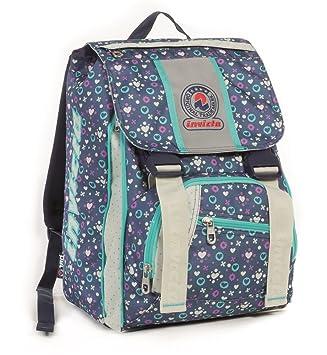 c47d434d53 Zaino scuola sdoppiabile INVICTA - FANTASY GIRL - Blue Azzurro - bambina - elementari  e medie 28 LT: Amazon.it: Valigeria