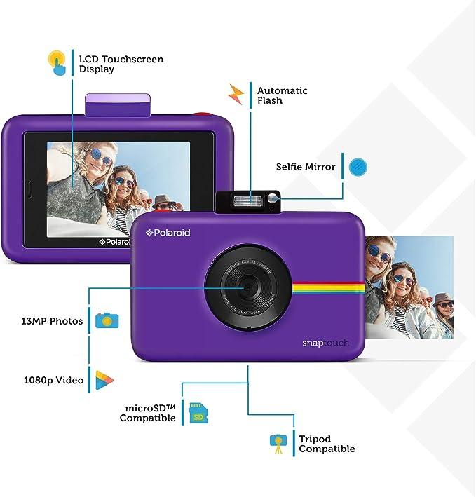 Polaroid Snap Touch 2 0 13mp Tragbare Digitale Kamera