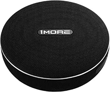 1MORE Portable Wireless and Wired Speaker, up to 35W Stereo Sound, Bluetooth 4.2, AUX 3.5, Nano Coated Fabric Finish with Strap, IPX4 Waterproof, 12-Hour Playtime (S1001BT)