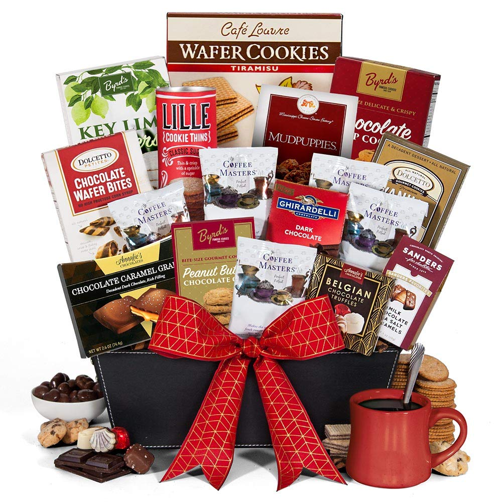 Coffee and Chocolates Gift Basket Premium
