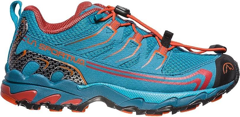 La Sportiva Falkon Low 36-40, Zapatillas de Senderismo Unisex Adulto, Multicolor (Tropic Blue/Tangerine 000), 39 EU: Amazon.es: Zapatos y complementos