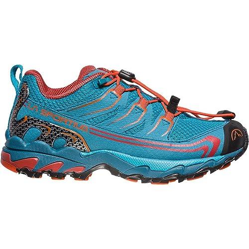 La Sportiva Falkon Low 36-40, Zapatillas de Senderismo Unisex Adulto, (Tropic Blue/Tangerine 000), 38 EU: Amazon.es: Zapatos y complementos