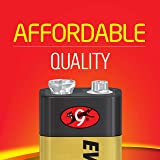 EVEREADY 9V Battery, 9 Volt Alkaline