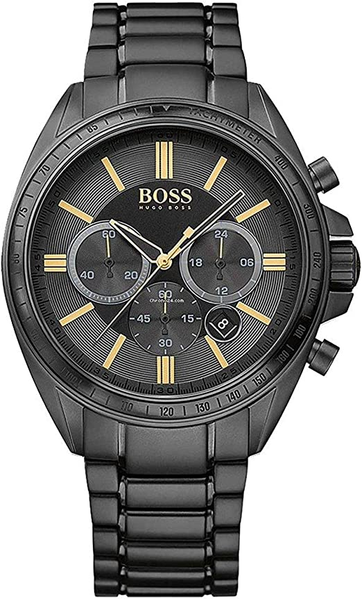 bester Verkauf einzigartiges Design gut aus x Amazon.com: HUGO BOSS Black Mens Driver Chronograph Watch, 1513277 ...
