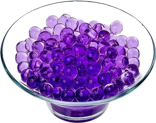 Púrpura 5 Paquetes de 10g Agua Gel Cristalino Cuentas - Aqua ...