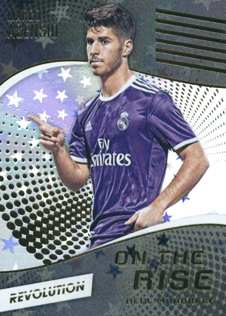 2017 Panini Revolution On the Rise Astro #15 Marco Asensio Soccer Card at Amazons Sports Collectibles Store