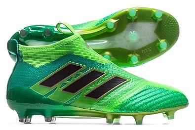 adidas Ace 17 Pure Control FG - Crampons de Foot - Vert Solaire/Noir