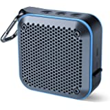 Portable Waterproof Bluetooth Speaker with FM Radio, IPX7 Waterproof Speaker Bluetooth Wireless Small Portable Speaker TWS St