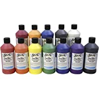 12-Set Sax 439304 True Flow Heavy Body Acrylic Paint (Assorted Colors)