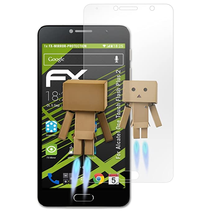 atFoliX Protector de pantalla para Alcatel.Smartphone & Teléfono ...