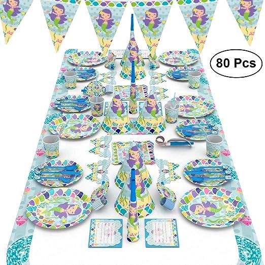BESTOYARD - Kit de Accesorios para Fiestas de cumpleaños con ...