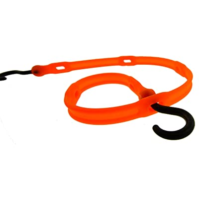 "The Perfect Bungee by BihlerFlex, AS36NG Adjust-A-Strap Adjustable Bungee, 36"", Safety Orange: Automotive"