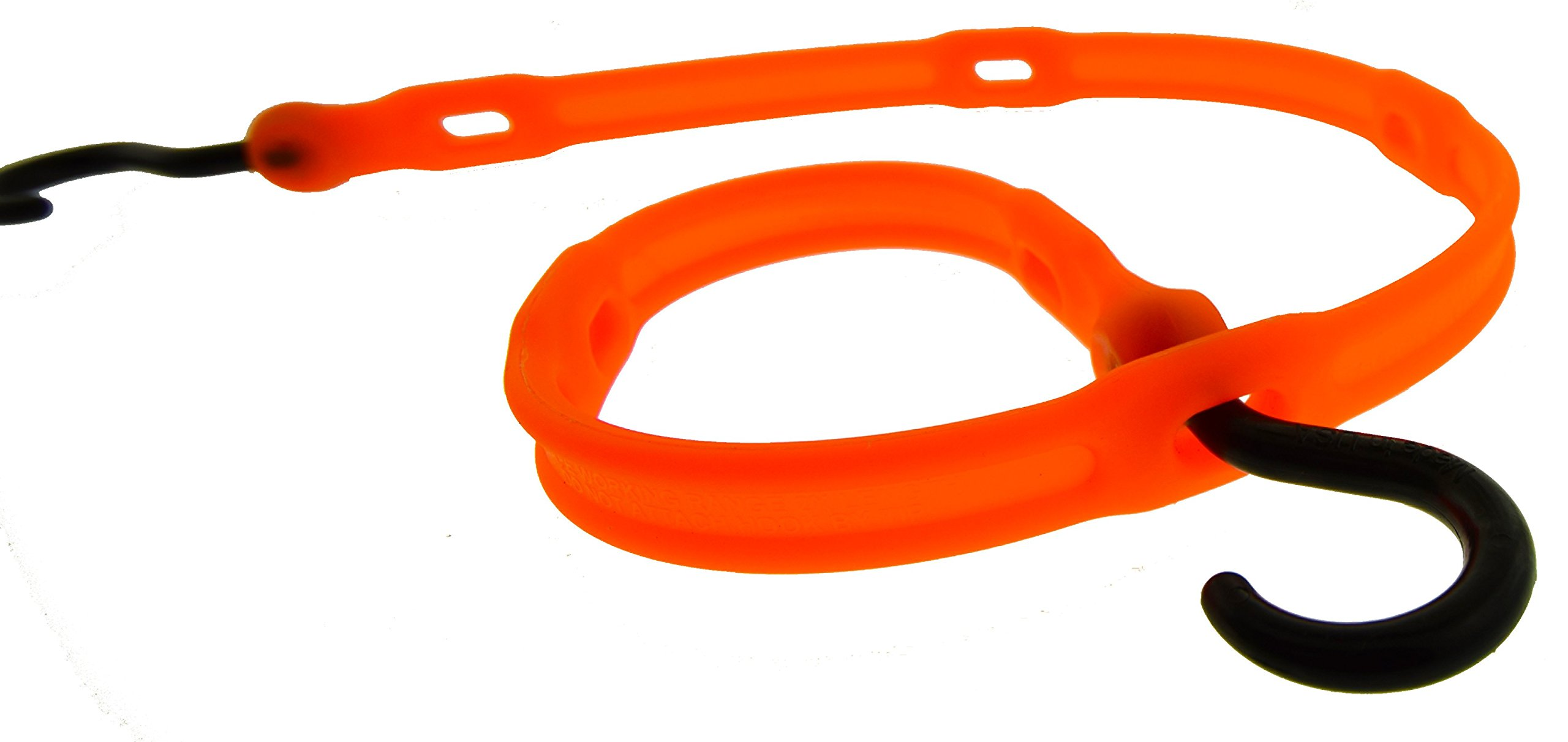 The Perfect Bungee by BihlerFlex, AS36NG Adjust-A-Strap Adjustable Bungee, 36'', Safety Orange