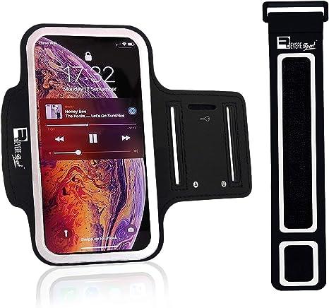 Brazalete Deportivo Compatible iPhone 11 Ciclismo Funda Caso de Ejercicio Armband de Tel/éfono para Correr