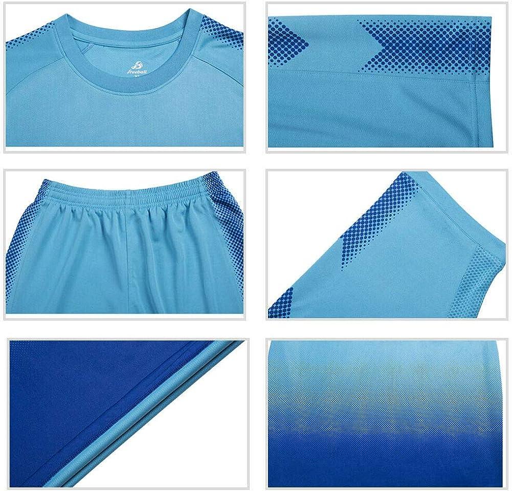 Shorts Set Competencia Uniforme Tracksuits Meijunter F/útbol Formaci/ón Traje Juventud Ni/ños Adulto Soccer Jerseys Sportswear Camisetas