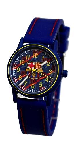 Reloj deportivo infantil del FC Barcelona  Amazon.es  Relojes e7d28f5dc3c