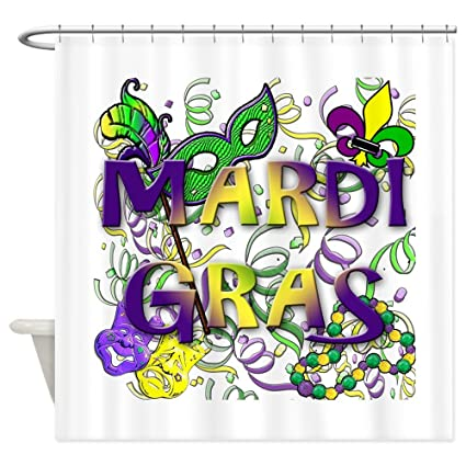 Image Unavailable Not Available For Color CafePress MARDI GRAS Shower Curtain