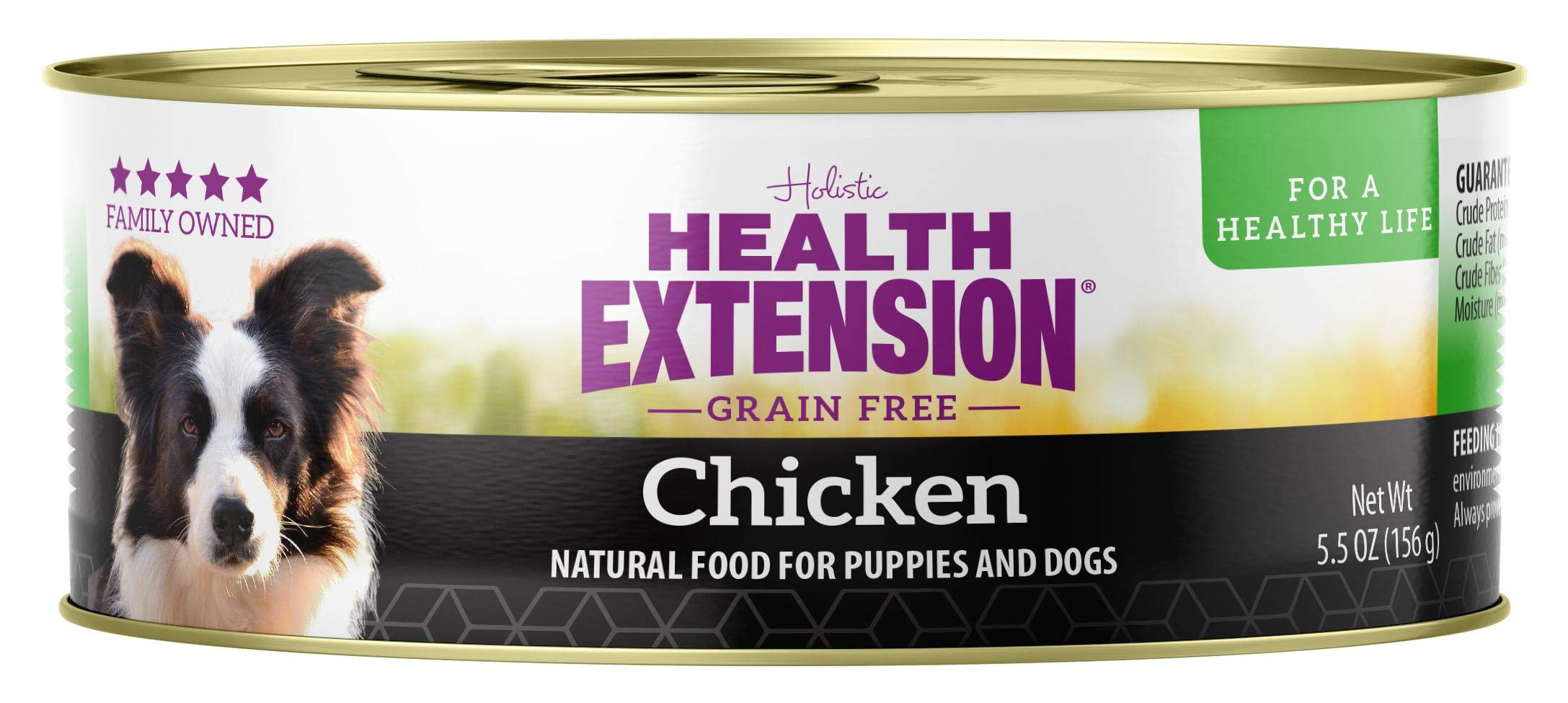 Health Extension Grain Free 95% Chicken Canned Wet Dog Food - (24) 5.5 Oz Cans by Health Extension