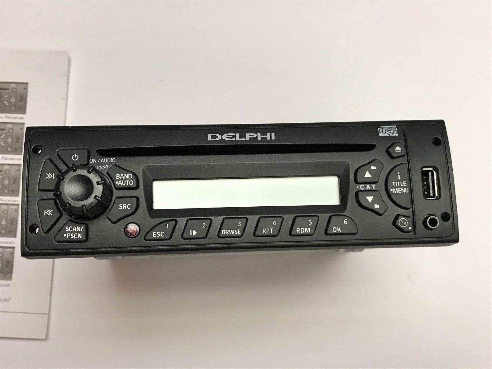 Delphi Stereo, CD/MP3/USB