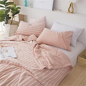 BeddingHome - Colcha de cama de verano de algodón minimalista, ligera, manta de sofá/colchones de viaje 2018: Amazon.es: Hogar