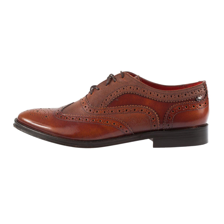 Base London - Zapatos de cordones para hombre rojo canela PpRVNo3H