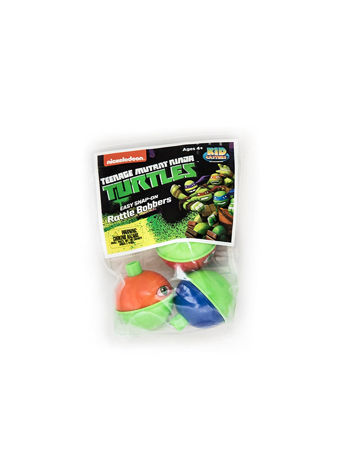 Kid Casters Easy Snap-On Rattle Bobbers (Pk 3)