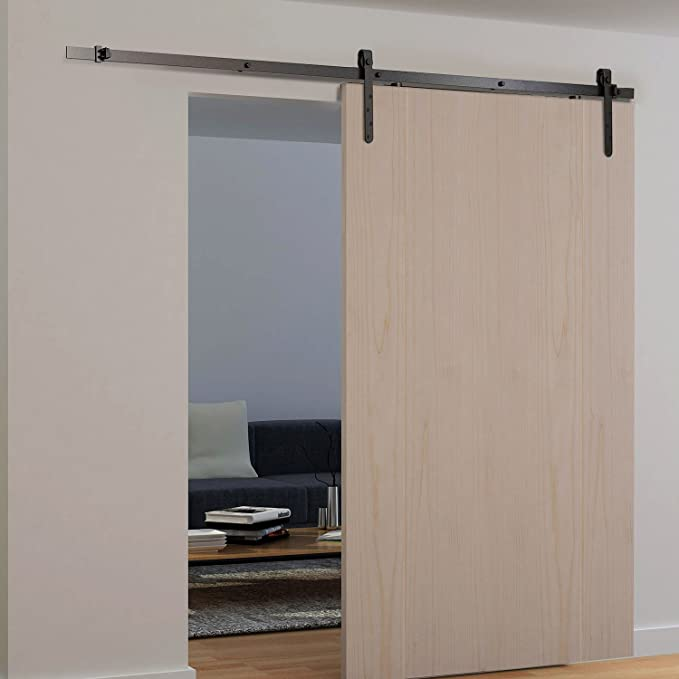 HOMCOM - Soporte deslizante de acero para puerta de armario o armario, 180 cm: Amazon.es: Jardín